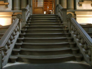 Лестница библиотеки Лауренциана.