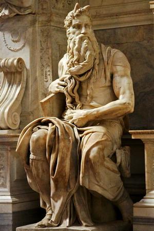 Моисей 1515-16 г. Рим.