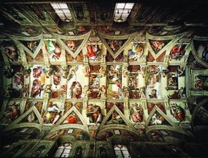 Сикстинская капелла 1508-12 г. Рим.