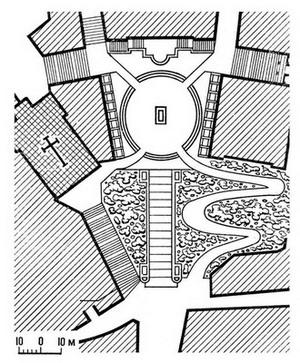 План площади Капитолия.