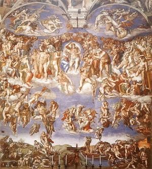 Страшный суд 1536-41 г. Рим.