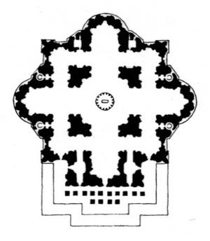 План собора Святого Петра.