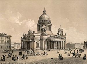 Исаакиевский собор 1818-1858 гг., Санкт-Петербург, Россия.