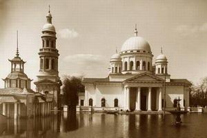 Спасский староярмарочный собор 1816-1822 гг., Нижний Новгород, Россия.