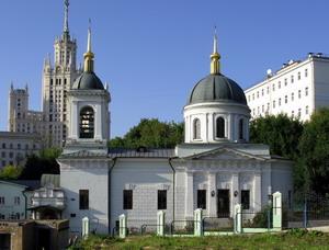 Храм Святителя Николая в Котельниках 1822-1824 гг., Москва, Россия.