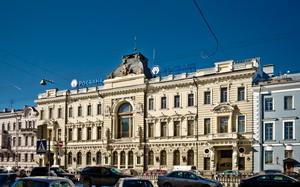 Здание Санкт-Петербургского общества взаимного кредита на наб. Екатерининского канала (кан. Грибоедова, 13), 1888-1890 гг., Санкт Петербург.
