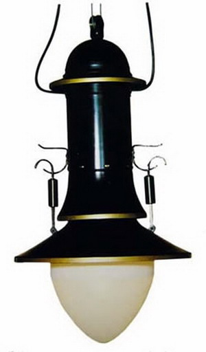 Промышленный дизайн - лампа.