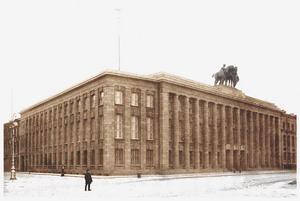 Здание посольства Германии 1911-1912 гг., Исаакиевская площадь, Санкт Петербург.