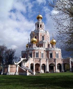 Церковь Покрова в Филях, Россия.