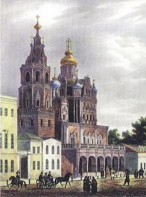 Церковь Успения Пресвятой Богородицы, Россия.