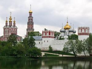 Новодевичий женский монастырь. Москва.