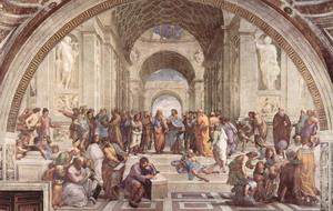 Афинская школа.
