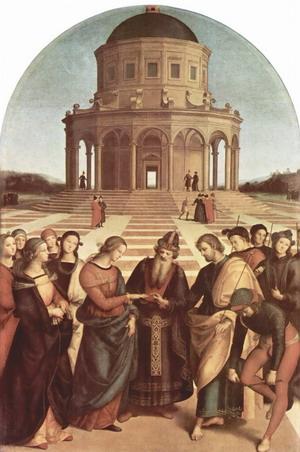 Обручение девы Марии.