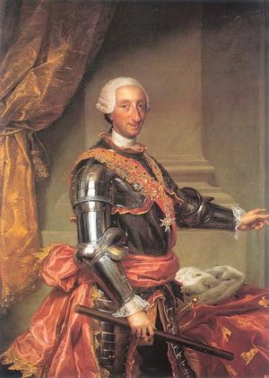 Карл III Испанский, 1761, Прадо, Мадрид, Испания.