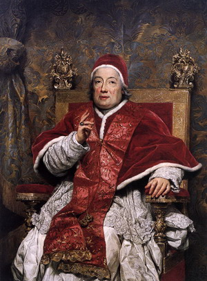 Папа Климент XIII, 1758 г., Национальная пинакотека, Болонья, Италия.