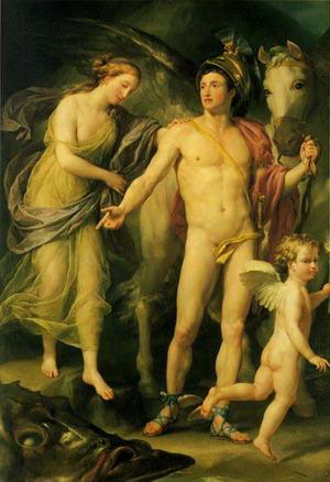 Персей и Андромеда, 1774-1777гг., Эрмитаж, Санкт-Петербург, Россия.