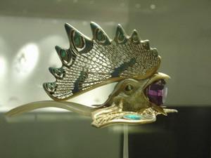 Tiara de Lalique.