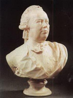 Бюст графа П. А. Румянцев-Задунайский, 1778 г., Русский музей, Санкт-Петербург.