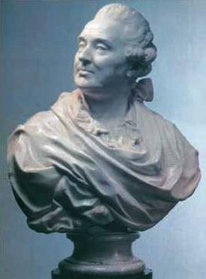 Бюст князя А. М. Голицына, мрамор, 1775 г., Третьяковская галерея, Москва.