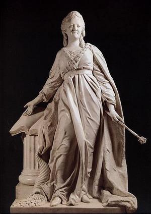 Статуя Екатерина II - законодательница 1789-90 гг., Русский музей, Санкт-Петербург.