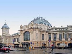 Витебский вокзал 1904 г., Санкт-Петербург.