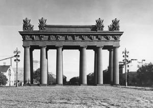 Московские триумфальные ворота 1834-1838 гг., Санкт-Петербург, Россия.