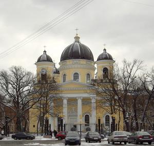 Преображенский собор 1827-1829 гг., Санкт-Петербург, Россия.