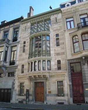 Дом Тассель 1893 г., Бельгия.
