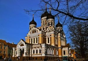 Преображенский собор в Таллине.