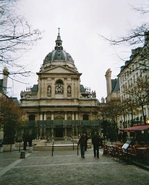 Церковь Сорбонны 1626 г. Франция.