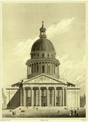 Церковь Святой Женевьевы в Париже, Франция.