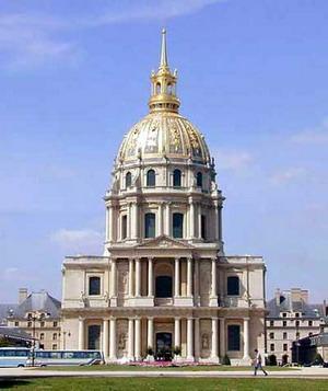 Собор инвалидов в Париже.